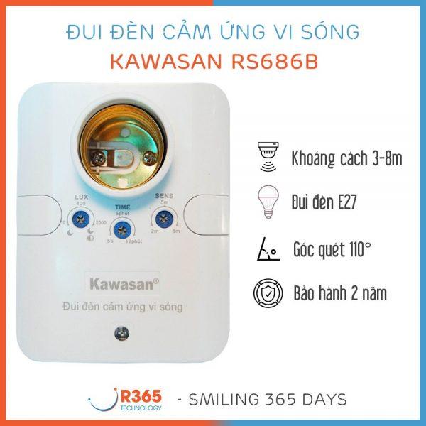 dui den cam ung vi song rs686b