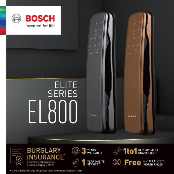Khóa cửa vân tay BOSCH EL800AKB